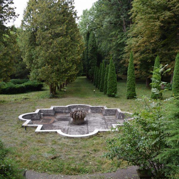 Le parc de Szentkereszty