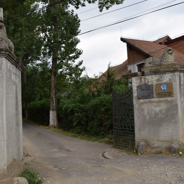 L'entree du palais Szentkereszty