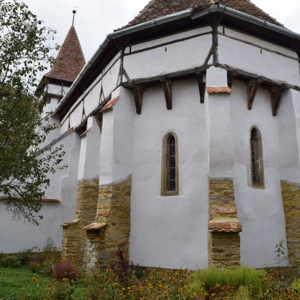 Fortified church, in front of Cincsor guesthouse