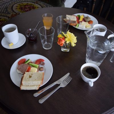 Breakfast at Cincsor guesthouse
