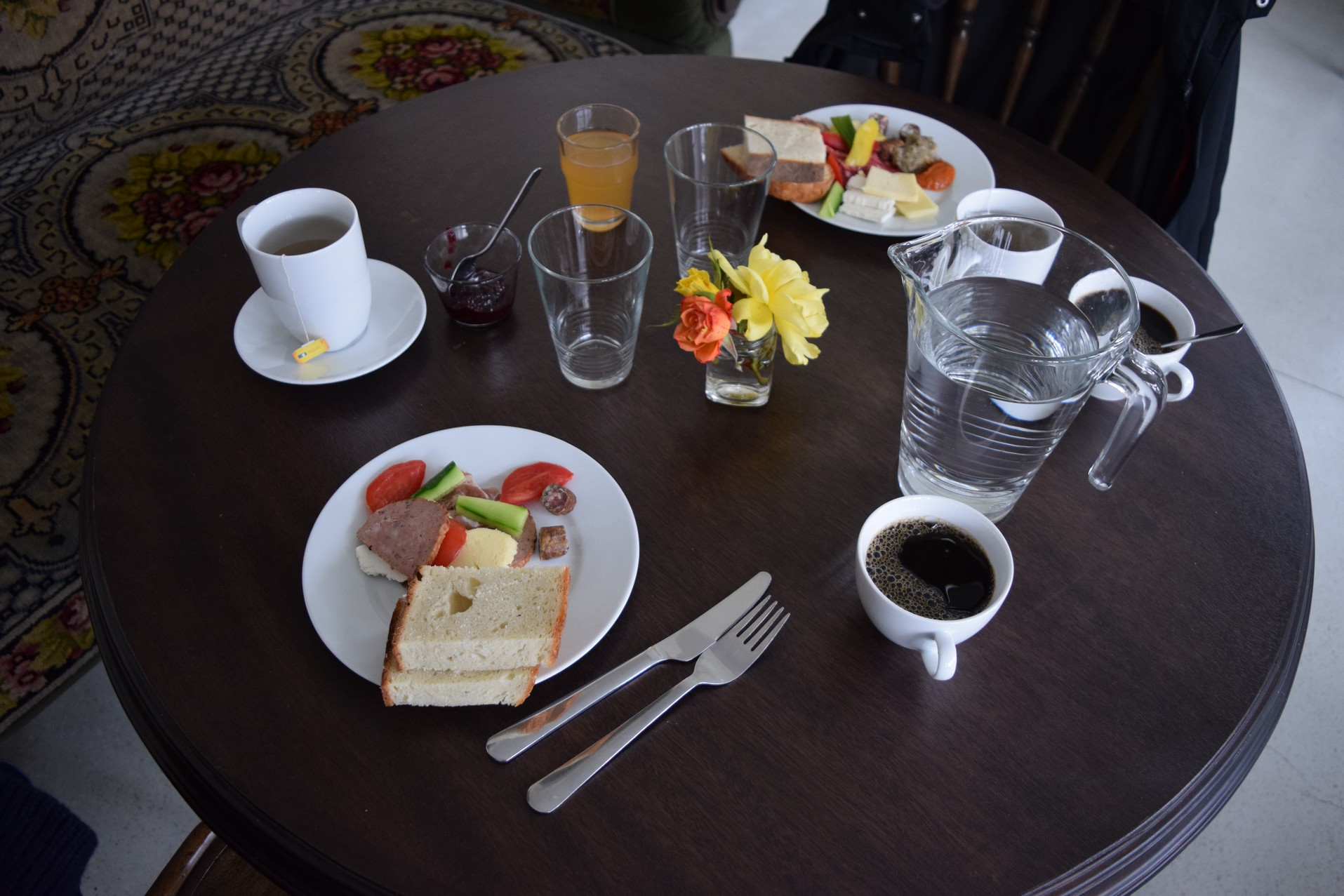 petit dejeuner cincsor
