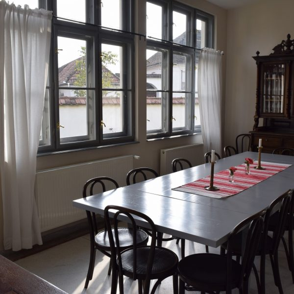 The restaurant of Cincsor guesthouse.
