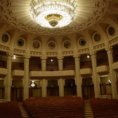 Theater of the Palace of Parliament.