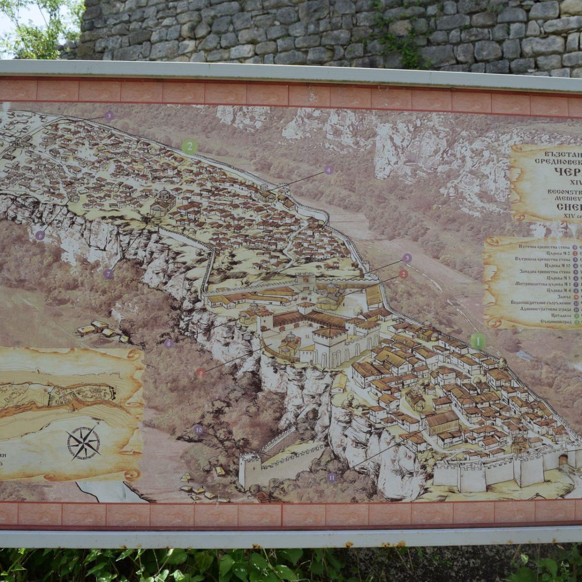 Carte de la Citadelle Cherven.