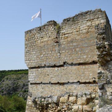 La Citadelle Cherven, monument proche de Veliko Tarnovo, en Bulgarie