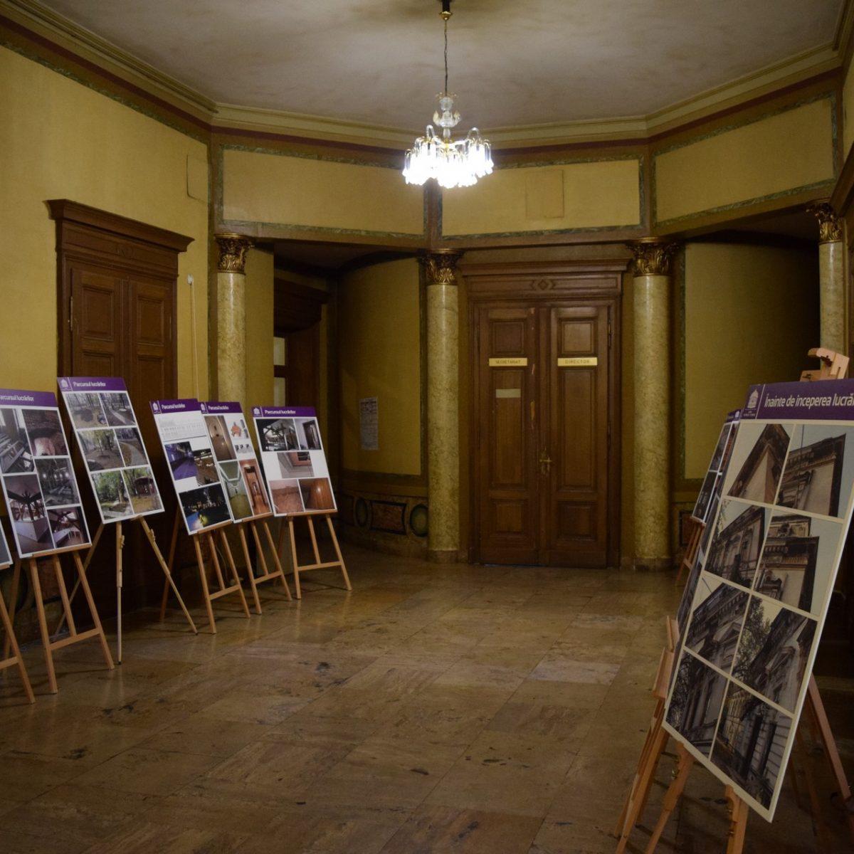 Exposition temporaire au Palais Sutu.