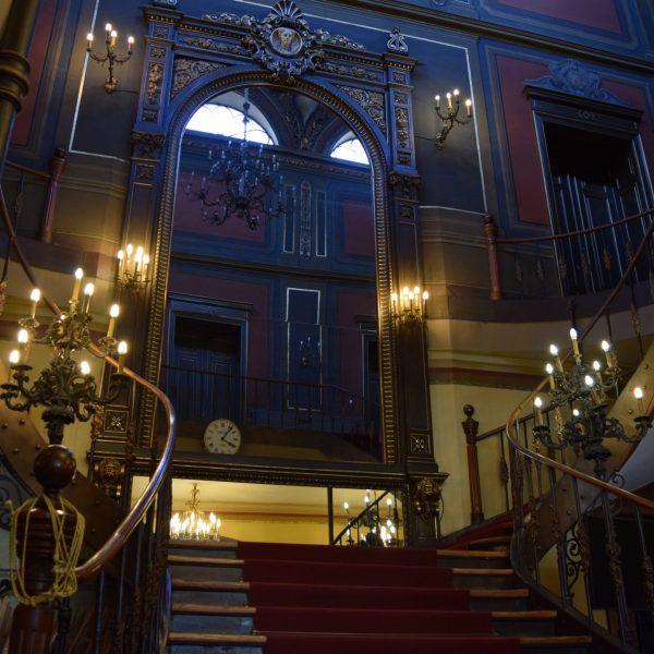 Escalier du Palais Sutu.