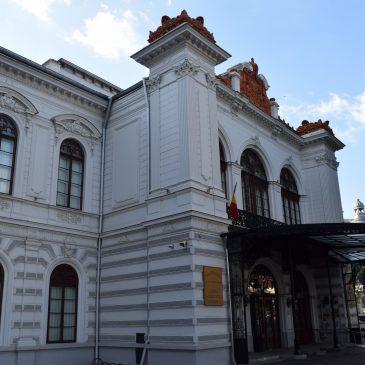 Le Palais Sutu, monument historique transformé en musée, à Bucarest