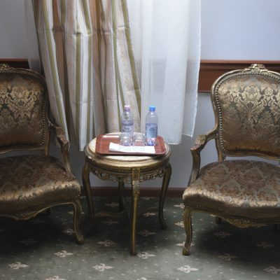 La chambre du château Haller.
