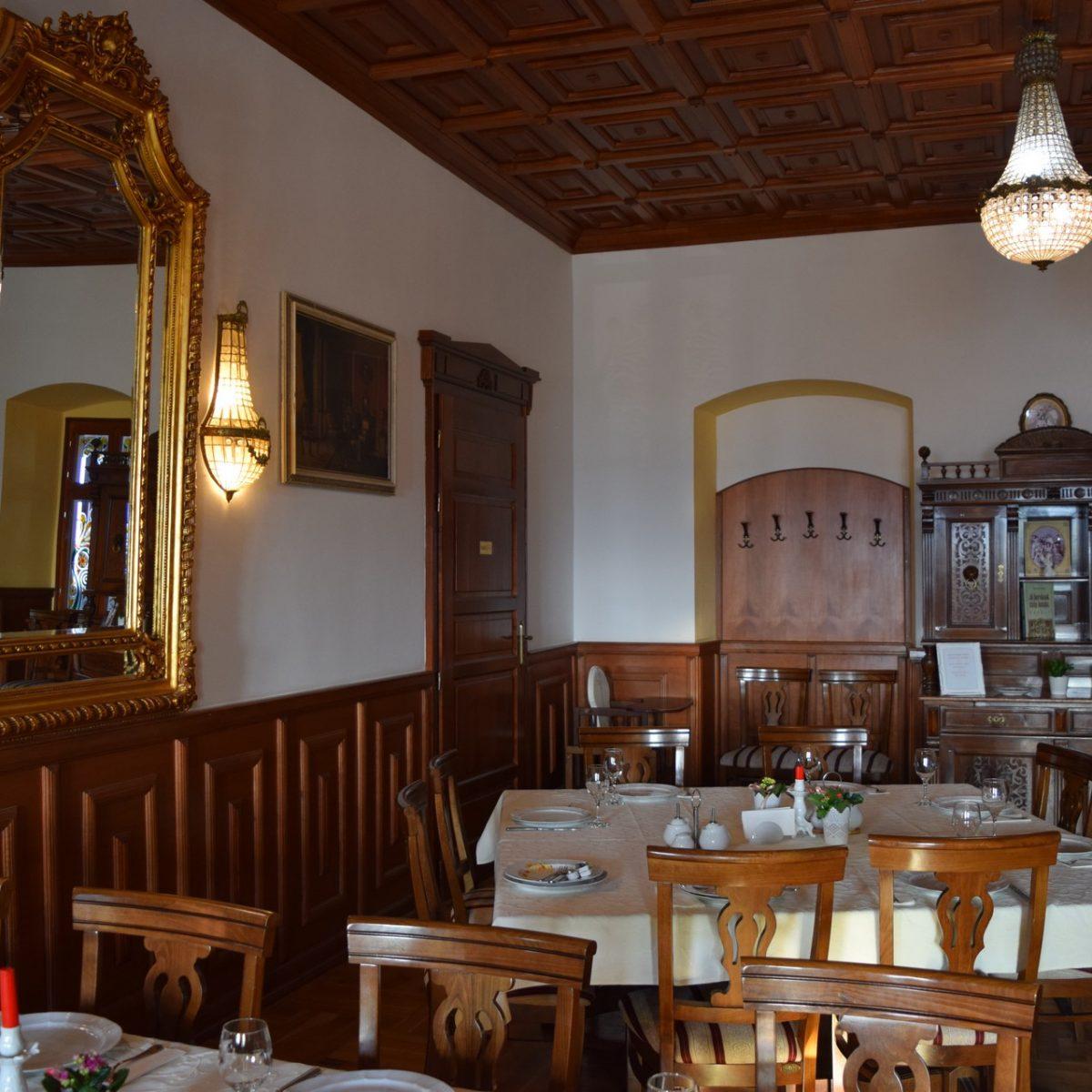 Le restaurant du château Haller.