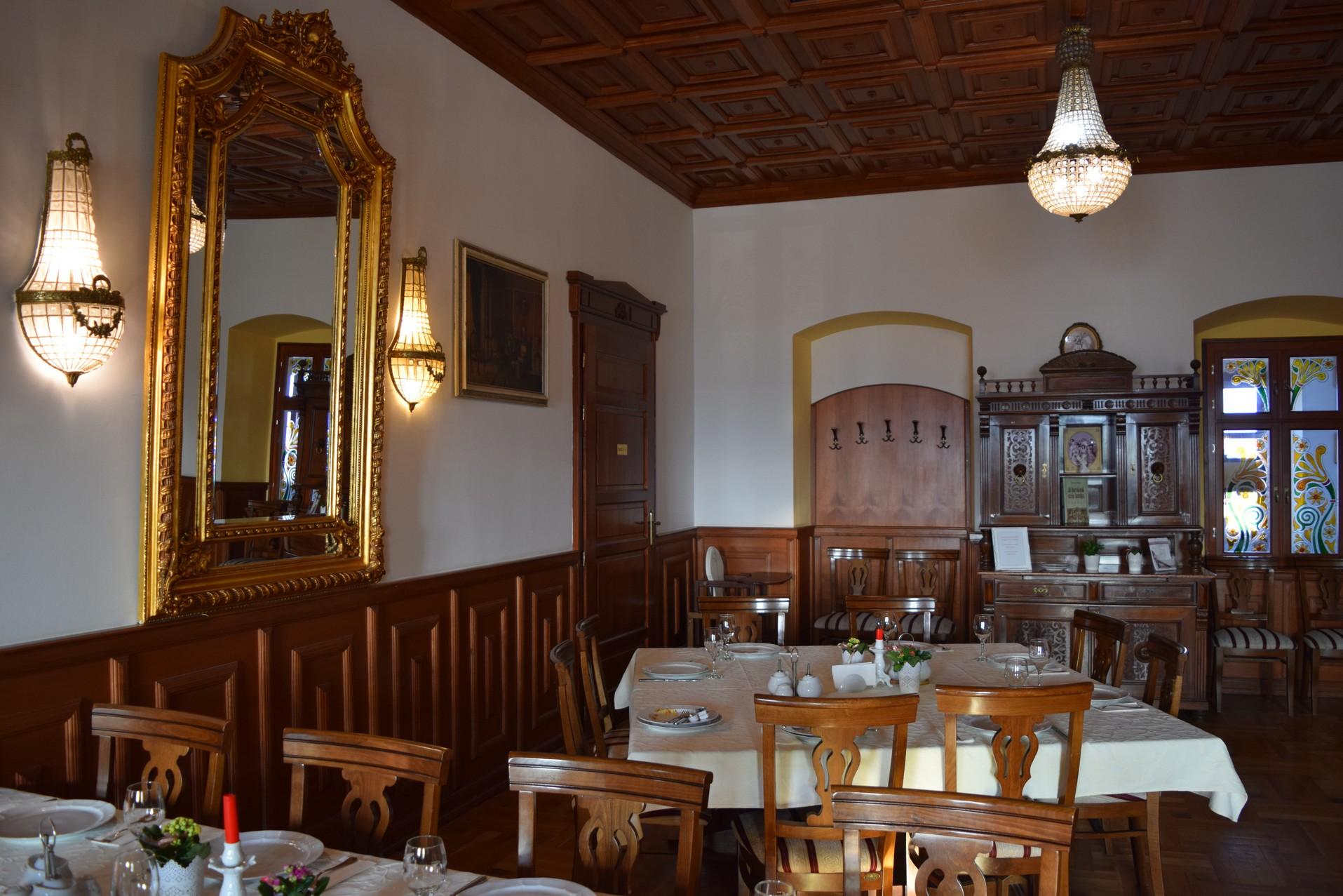 restaurant château Haller