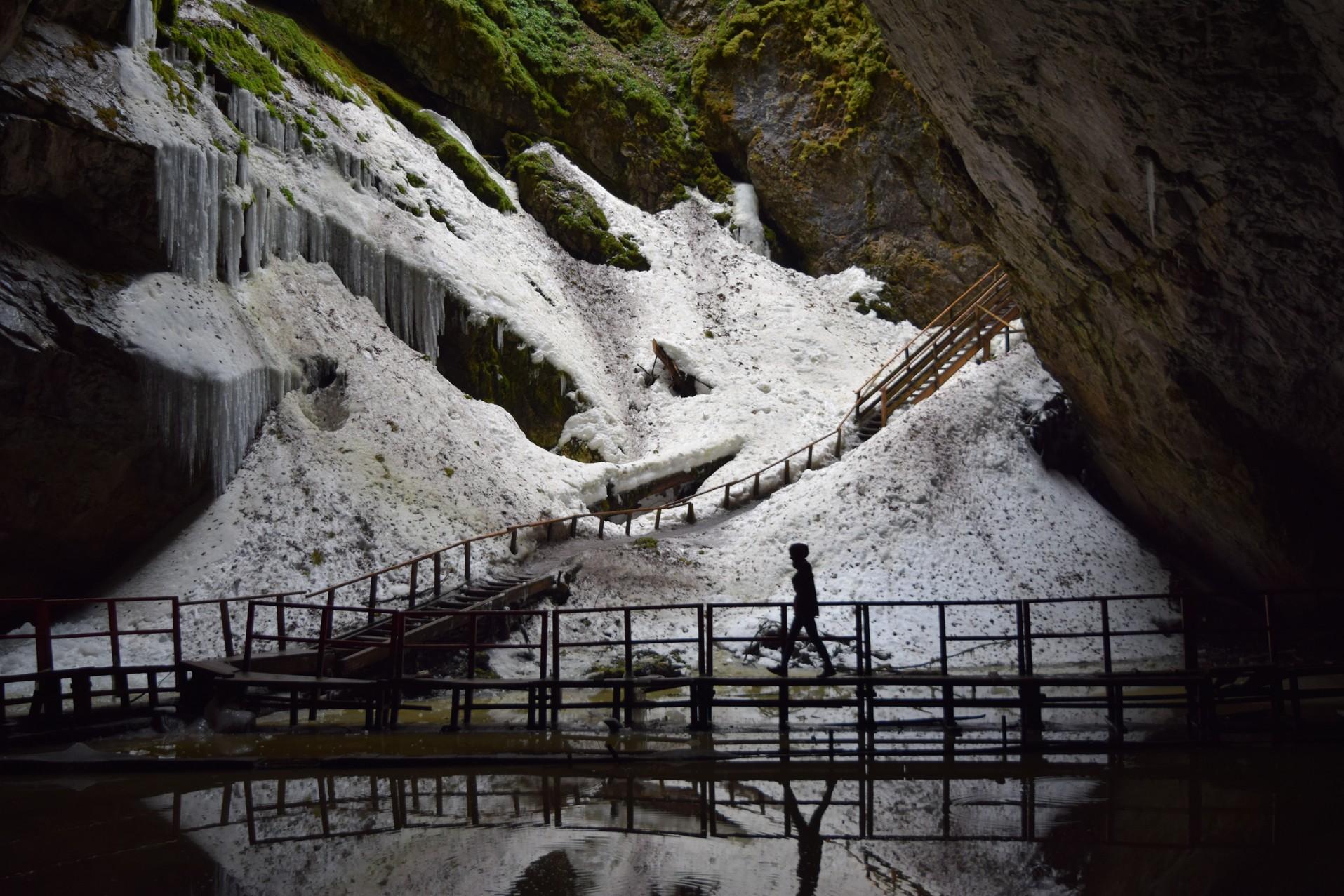 Le Glacier Scarisoara